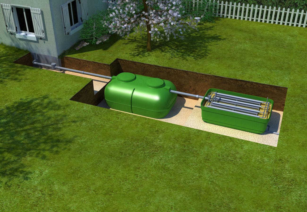 comment installer une fosse septique toutes eaux. Black Bedroom Furniture Sets. Home Design Ideas